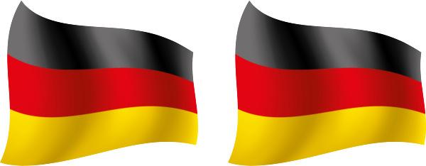 Deutschland Flagge Fahne Fussball Aufkleber Sport Em Wm