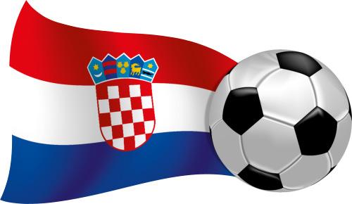 Kroatien Wandbild Wandtattoo Flagge Fahne Fussball Sport Em Wm
