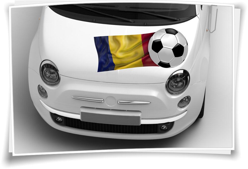 Rumänien Flagge Fahne Fußball Aufkleber Sport Em Wm