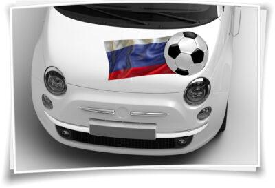 Fahne Autoaufkleber Sticker Flagge Aufkleber Auto  Fußball WM 2018 Russland