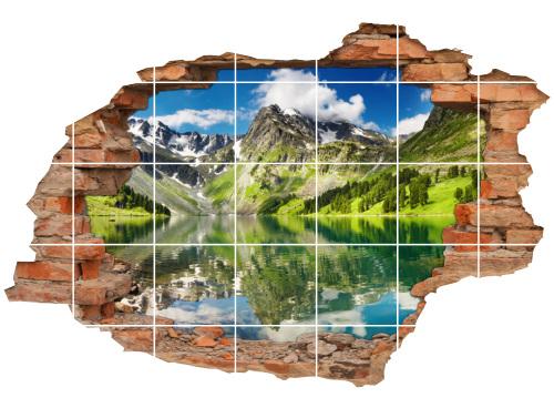 Berg-Landschaft See Alpen Urlaub Erholung