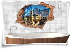 3d-fliesen-aufkleber-fliesen-bild-fliesen-tattoo-fliesen-sticker-wand-durchbruch-modern-architektur-wolken-kratzer-gebaeude-city-beleuchtet-beleuchtung-deko-raum-gestaltung