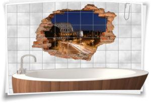 3d-wand-aufkleber-wand-bild-wand-tattoo-wand-sticker-wand-durchbruch-nacht-amphitheater-arhitektura-strasse-lichter-beleuchtung-dekor