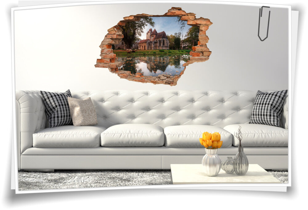 Wand-Aufkleber Ruhe Wand-Bild-er Frankreich