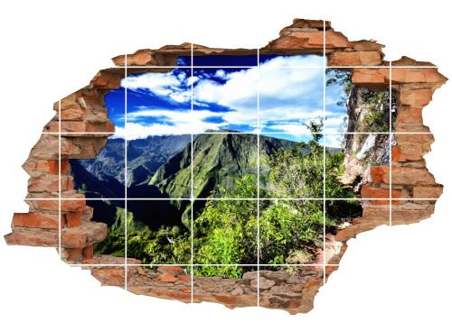 Fliesenaufkleber Landschaft Fliesenbild Fliesen Fliesenbilder Aufkleber 8B3067