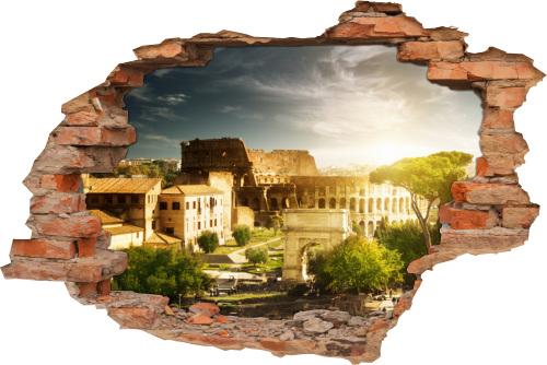 Wandtattoo 3D Deko Idee italienischer-abend