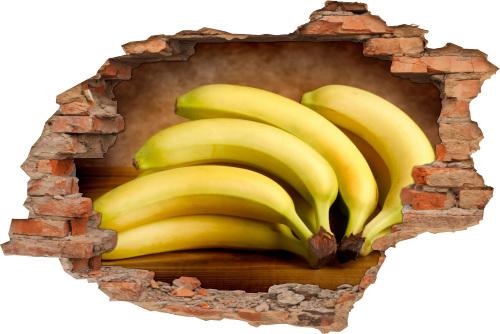 Wand-Bild Wand-Durchbruch Obst vital Frucht Energie Kraft Balance