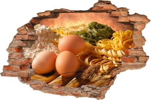 Lebensmittel Nudeln Mehl Eier