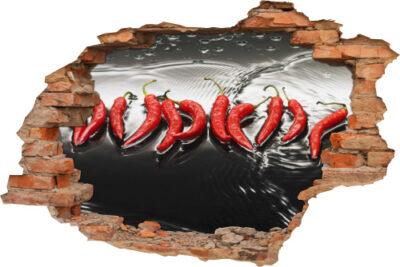 Wand-Tattoo-3D Wand-Aufkleber Wand-Bild Wand-Durchbruch