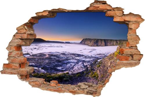 Wand-Durchbruch-3D Island-Tour Vulkan-Landschaft Lakagígar