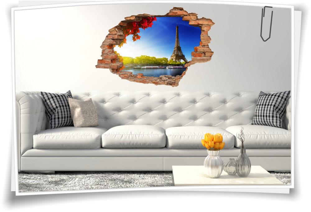 Wand-Tattoo Wohn-zimmer Deko Herbst-Romantik Wand-Aufkleber Flur