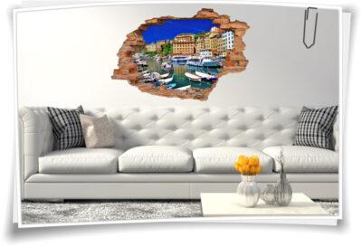 Wand-Tattoo Italien Wand-Aufkleber italienische Deko