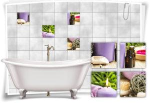 fliesen-aufkleber-fliesen-bild-kerzen-salz-wellness-spa-violett-lila-deko-bad-wc