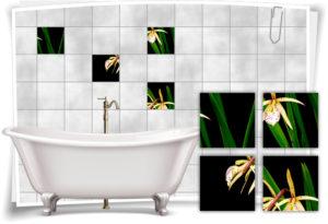 fliesen-aufkleber-fliesen-bild-orchideen-steine-wassertropfen-wellness-spa-rot-schwarz-deko-bad-wc-kopie