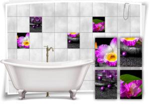 fliesen-aufkleber-fliesen-bild-orchideen-steine-schwarz-lila-wellness-spa-deko-bad-wc