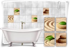 fliesenaufkleber-fliesenbild-sand-steine-blume-wellness-spa-beige-gruen-aufkleber-deko-bad-wc