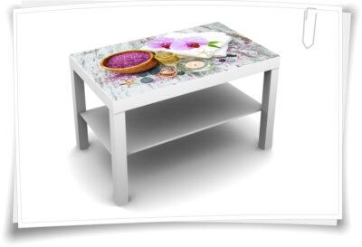 Tischaufkleber